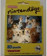 NINTENDOGS 3D PUZZLE 35-pc Nintendo Jigsaw Dogs Puppy NEW - $5.99