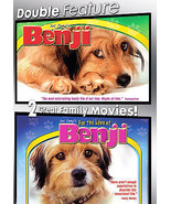 NEW Double Feature DVD - Benji / For the Love of Benji (2007) from Joe C... - $5.50