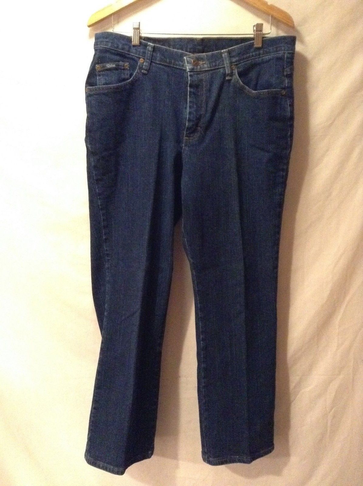 Womens Riders Denim Blue Jeans Size Large