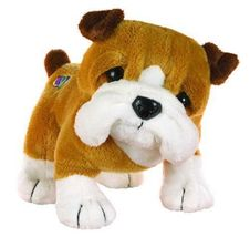 NEW Ganz Webkinz Bulldog Plush - HM126 NEW W/ UNUSED CODE & TAG - RARE - $32.00
