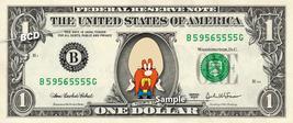 YOSEMITE SAM on a REAL Dollar Bill Cash Money Collectible Memorabilia Ce... - $7.77