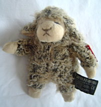 Russ Farm Friends Sheep with Tags Small Woolly Corduroy Beanie Stuffed Animal  - $9.99