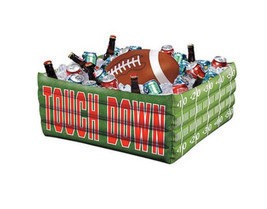 Inflatable Plastic Party Cooler Beverage Tailgating Ice Chest Drinks Foo... - $26.99
