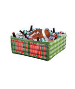 Inflatable Plastic Party Cooler Beverage Tailgating Ice Chest Drinks Foo... - ₨2,455.59 INR