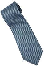 BU1 Blue Solid Men Formal Fashion Neck Tie - $7.99
