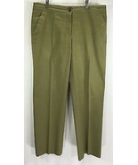 Etro Size 46 Women's Pants Cotton Blend Made in Italy Green - $13.95