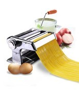 "150mm 6"" Pasta Maker & Roller Machine Noodle Spaghetti & Fettuccine Make... - $39.37 CAD"