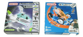 Meccano Erector Sets Multi Models 2511E Space Chaos Silver Force 2100A L... - $19.79
