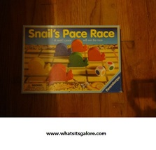 Ravensburger SNAIL'S PACE RACE board game - $12.00
