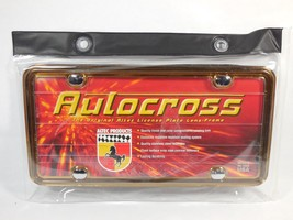 License Plate Frame Gold Altec Autocross Lens F... - $43.19