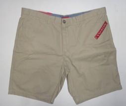 Merona The Club Khaki Men's Shorts NWT  Sz 42 Flat Front - $14.99