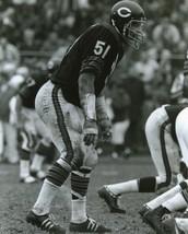 Dick Butkus Chicago Bears SAS2 Vintage 11X14 BW Football Memorabilia Photo - $14.95