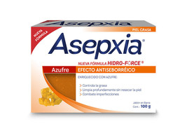 ASEPXIA AZUFRE 100g x 2 bars of acne fighting soap NEW FORMULA !!!!! - $11.99