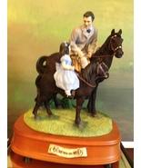 San Francisco Music Box Co - Rhett & Bonnie Riding Lesson Gone With the ... - $150.00