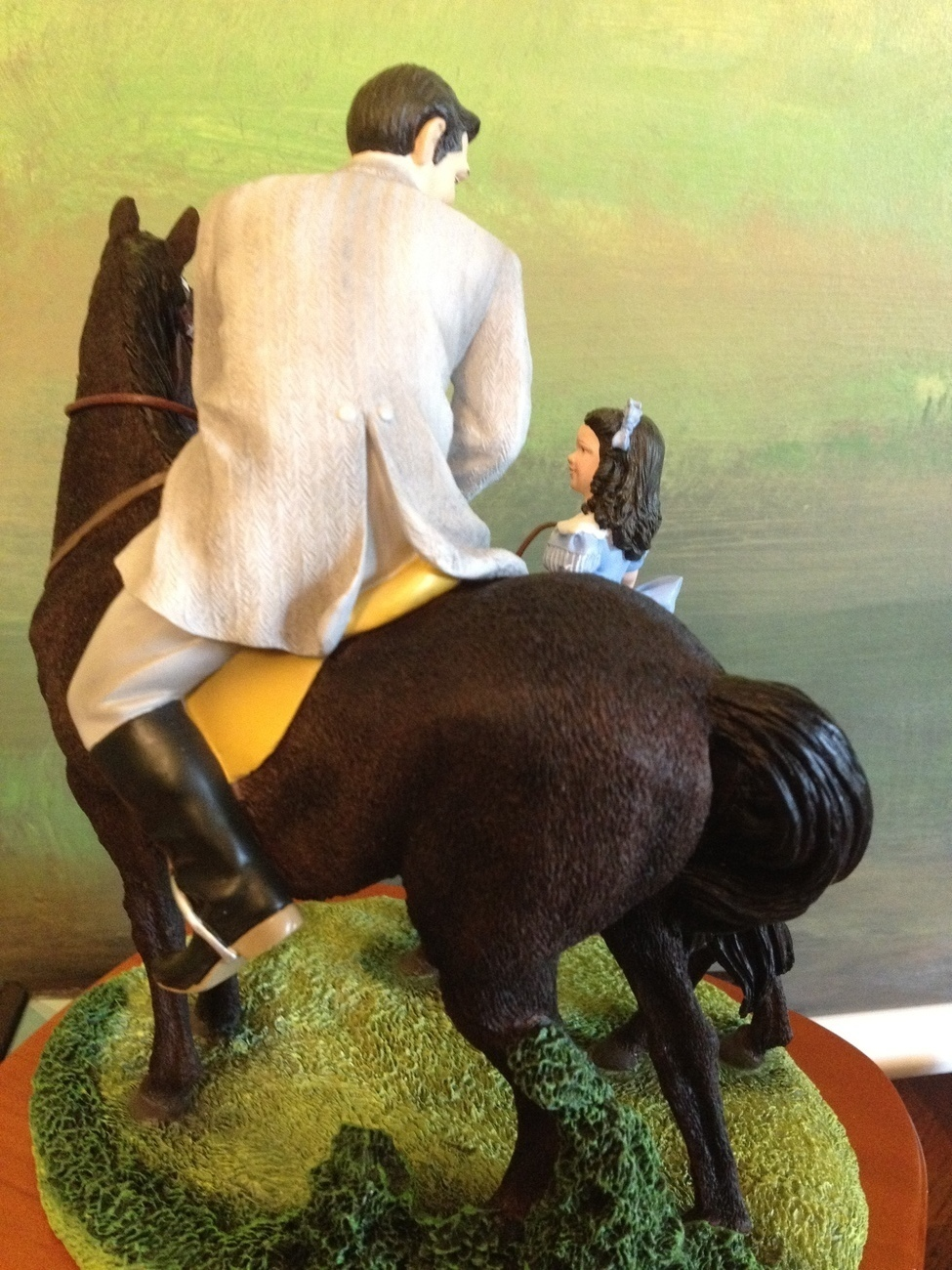 San Francisco Music Box Co - Rhett & Bonnie Riding Lesson Gone With the Wind