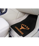 University of Texas Car Mats 2 Piece Front, Black Background, Fan Mats - $30.00