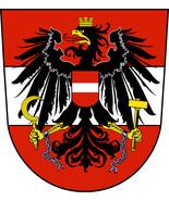 Austria logo shaped vinyl self cling window sticker 10x9.5cm Euro 2016 F... - $3.57