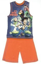 Disney Toy Story Boy's Size 6/7 Shorts & Top 2 or 3 Piece Outfit New image 2