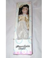 CLASSICAL COLLECTION HAND CRAFTED PORCELAIN HAND PAINTED DOLL FREE SHIPP... - $21.60
