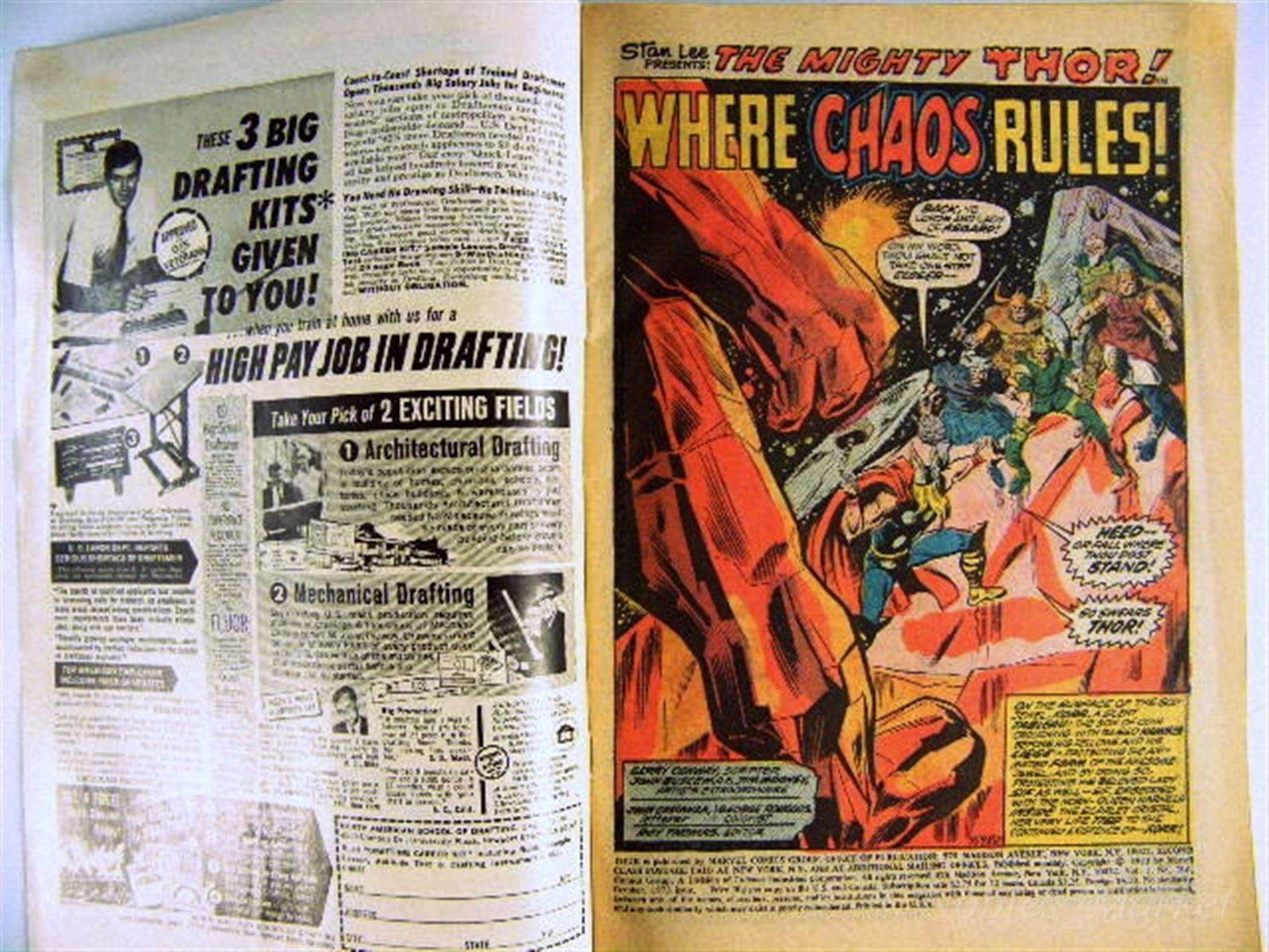 THOR #216 Good Condition Oct 1973 Marvel Comics The Wrecker