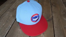 Chicago Cubs Hat Fitted Size 7 1/8 - $15.83