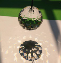 """100/Lot Spherical Globe Tear Drop Prism Clear Crystals Ball Chandelier Part 3/5"""" - $67.41"""