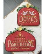 12 Days: Partridge Dove cross stitch chart Hand... - $9.00