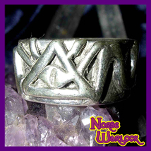 Illuminati Psychic Third Eye Ring of Divine Providence Reveals All! Metaphysical - $299.99
