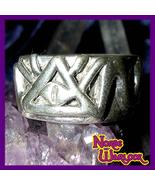Illuminati Psychic Third Eye Ring of Divine Providence Reveals All! Meta... - $299.99
