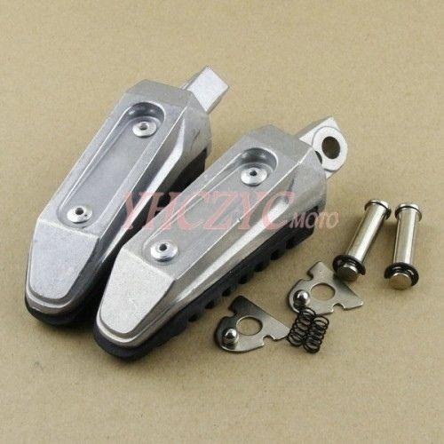 Foot Pegs Rear Footrest for Suzuki GSF650 Bandit 08-12 1250 07-11 GSX1250 10-11