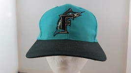 Florida Marlins Hat (VTG) - Original Logo Front - By Logo 7 - Adult Snapback - $45.00