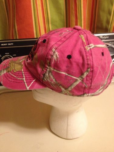 Pink Camo Camouflage Realtree Apc Baseball Hat Ball Cap Strapback Bone Collector