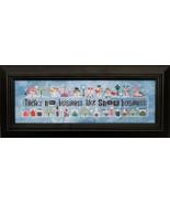 Snowscapes & Snow Squalls Part 1 cross stitch c... - $13.00