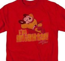 Im Mighty Mouse Graphic t-shirt Retro classic cartoon Animated TV series CBS785 image 3