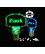 Personalized Kids Basketball Hoop LED Night Light with Name  - $24.00