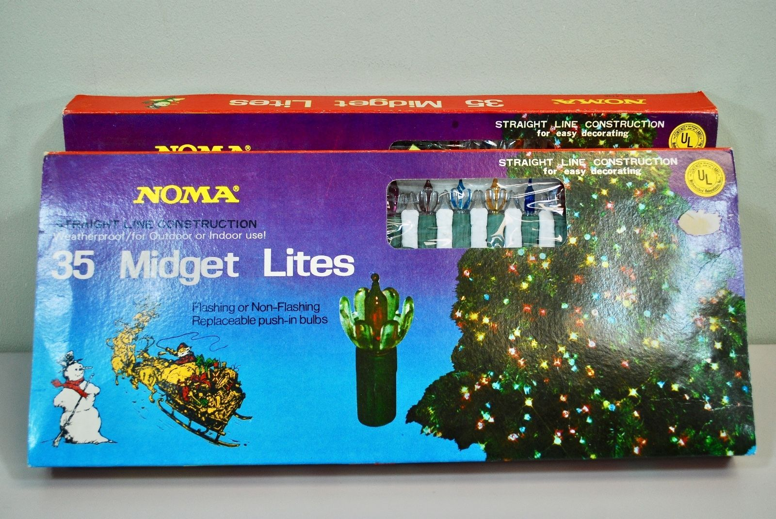 2 Boxes* Vintage Christmas Lights Noma and similar items