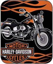Harley-Davidson Fatboy Royal Plush Throw, 60 x 80 - $44.55