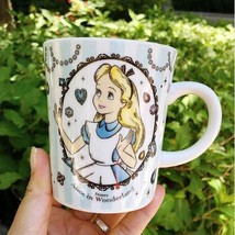 Alice In Wonderland The Little Mermaid Porcelain Ceramic Tea Coffee Mug Cup - $34.94
