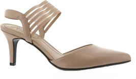LifeStride Sanya Contemporary Pump Taupe 8.5M NEW 684-189 - $52.45