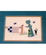 Diane Graebner Cross Stitch Designs Dolly meet Mr. Bird pattern - $11.19