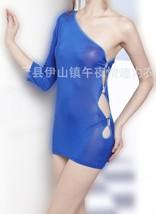 One Shoulder Side Cut Sexy Women Mini Bodycon Cocktail Party Dress G-str... - $9.06