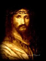 ORIGINAL ACEO Jesus Religous Sepia Art Print -:... - $5.94