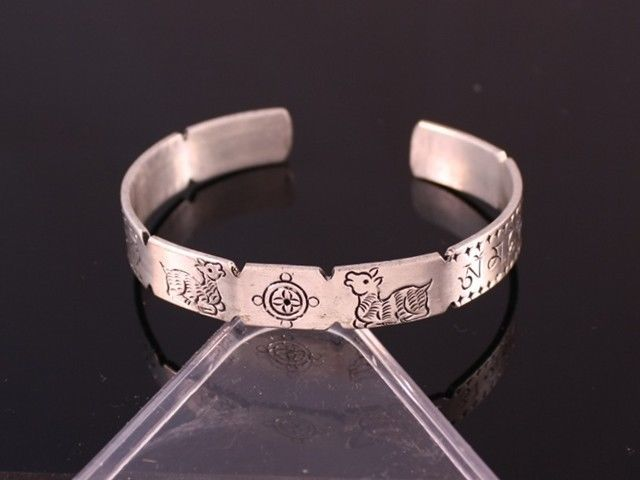 d770f36031611 Solid Tibetan Double Deer Dharma Wheel and 50 similar items