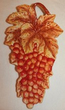Fitz & Floyd Ceramic Red Grapevine Dish or Hang... - $24.00