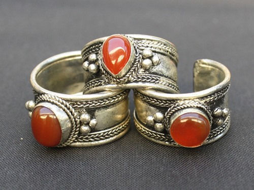 a053488703c1a Large Adjustable Tibetan Orange Red Agate and 50 similar items