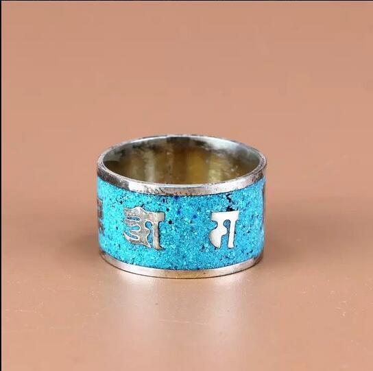 76dcd83a3b46c Wide Tibetan Turquoise Gemstone Inlaid and 50 similar items
