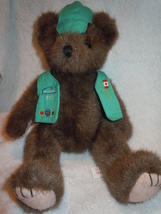 Mary Meyer Girl Scout Jointed Teddy Bear 1996 - $9.99