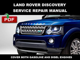 Land Rover 2013 2014 2015 Discovery Petrol And Diesel Shop Service Repair Manual - $14.95