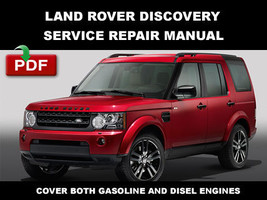 2013 2014 2015 Land Rover Discovery 4 LR4 L319 Engine Suspension Repair Manual - $14.95