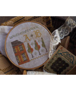 Fragments In Time #1 2014-2015 series cross stitch Summer House Stitche ... - $4.00